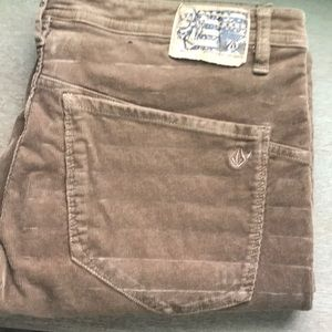 Volcom cords, Men's pants, size 36, New w/out tags